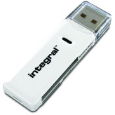 Integral SD/MicroSD USB card reader