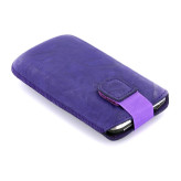Mobiparts Uni Pouch SMOKE Size L Purple