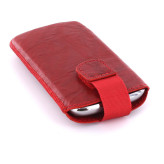 Mobiparts Uni Pouch SMOKE Size M Red