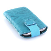 Mobiparts Uni Pouch SMOKE Size M Turquoise