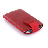 Mobiparts Uni Pouch SMOKE Size S Red