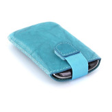 Mobiparts Uni Pouch SMOKE Size S Turquoise