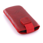Mobiparts Uni Pouch SMOKE Size XS Red