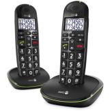 Doro PhoneEasy 110 Duo Dect Black