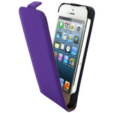 Mobiparts Premium Flip Case Apple iPhone 5/5S Purple