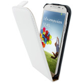 Mobiparts Classic Flip Case Samsung Galaxy S4 White