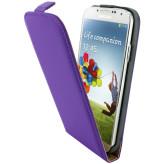 Mobiparts Premium Flip Case Samsung Galaxy S4 Purple