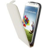 Mobiparts Premium Flip Case Samsung Galaxy S4 White