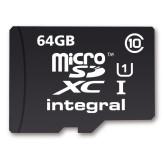 Integral MicroSD 64GB + Adapter (40MB/s Class 10)