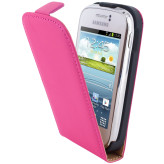Mobiparts Premium Flip Case Samsung Galaxy Young Pink