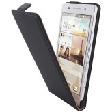 Mobiparts Premium Flip Case Huawei Ascend P6 Black