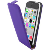 Mobiparts Premium Flip Case Apple iPhone 5C Purple
