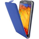 Mobiparts Premium Flip Case Samsung Galaxy Note 3 Blue