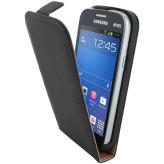 Mobiparts Premium Flip Case Samsung Galaxy Trend Lite Black
