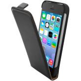 Mobiparts Essential Flip Case Apple iPhone 5/5S/SE Black