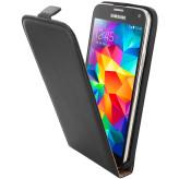 Mobiparts Essential Flip Case Samsung Galaxy S5 / S5+ / S5 Neo Black