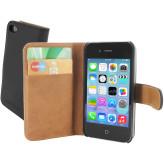 Mobiparts Premium Wallet Case Apple iPhone 4/4S Black