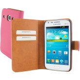 Mobiparts Premium Wallet Case Samsung Galaxy Core Pink