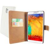 Mobiparts Premium Wallet Case Samsung Galaxy Note 3 White