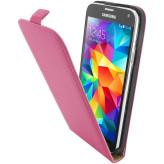 Mobiparts Premium Flip Case Samsung Galaxy S5/S5 Plus Pink