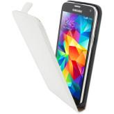 Mobiparts Premium Flip Case Samsung Galaxy S5 / S5+ / S5 Neo White