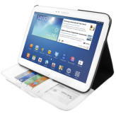 Mobiparts Business Folio Case Samsung Galaxy Tab 3 10.1 White
