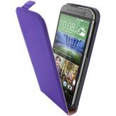 Mobiparts Premium Flip Case HTC One (M8) / M8s Purple