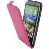 Mobiparts Premium Flip Case HTC One (M8) / M8s Pink
