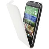 Mobiparts Premium Flip Case HTC One (M8) / M8s White