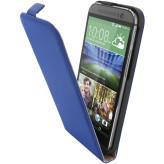 Mobiparts Premium Flip Case HTC One (M8) / M8s Blue