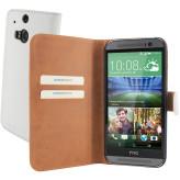 Mobiparts Premium Wallet Case HTC One (M8) / M8s White