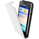 Mobiparts Premium Flip Case Huawei Ascend Y330 White