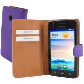Mobiparts Premium Wallet Case Huawei Ascend Y330 Purple