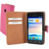 Mobiparts Premium Wallet Case Huawei Ascend Y330 Pink