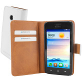 Mobiparts Premium Wallet Case Huawei Ascend Y330 White