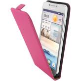 Mobiparts Premium Flip Case Huawei Ascend G630 Pink