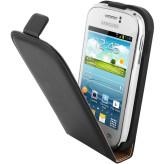 Mobiparts Essential Flip Case Samsung Galaxy Young Black