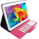 Mobiparts Business Folio Case Samsung Galaxy Tab 4 10.1 Pink