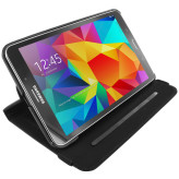 Mobiparts 360 Rotary Stand Case Samsung Galaxy Tab 4 8.0 Black