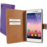Mobiparts Premium Wallet Case Huawei Ascend P7 Purple