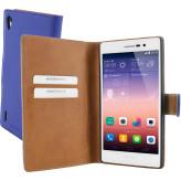 Mobiparts Premium Wallet Case Huawei Ascend P7 Blue