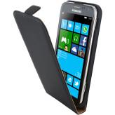 Mobiparts Premium Flip Case Samsung Galaxy Ativ S Black