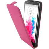 Mobiparts Premium Flip Case LG G3 Pink