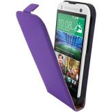 Mobiparts Premium Flip Case HTC One Mini 2 Purple
