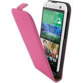 Mobiparts Premium Flip Case HTC One Mini 2 Pink