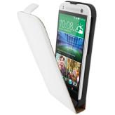 Mobiparts Premium Flip Case HTC One Mini 2 White