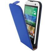 Mobiparts Premium Flip Case HTC One Mini 2 Blue