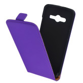 Mobiparts Premium Flip Case Samsung Galaxy Core LTE G386F Purple