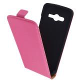 Mobiparts Premium Flip Case Samsung Galaxy Core LTE G386F Pink