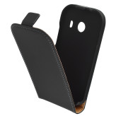 Mobiparts Premium Flip Case Samsung Galaxy Ace Style Black (G310)